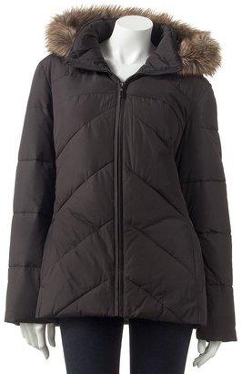 Apt. 9 hooded puffer coat