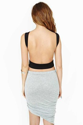 Nasty Gal Back Off Crop Tank