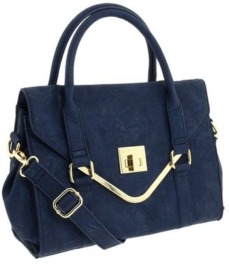 BCBGeneration Isla Satchel (Navy) - Bags and Luggage