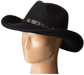 Dakota M&F Western Black) Cowboy Hats