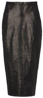 Rick Owens Leather skirt