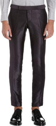Thom Browne Satin Jacquard Two-Piece Suit