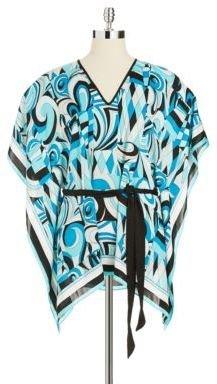 MICHAEL Michael Kors V- Neckline Kimono Top