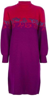 Yves Saint Laurent Vintage colour block sweater dress