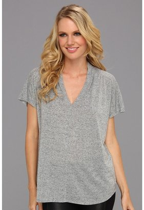 Rebecca Taylor Jersey Top (Grey) - Apparel