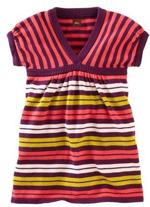 Tea Collection 'Art Village' Sweater Dress (Little Girls & Big Girls)