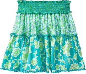 Old Navy Girls Smocked Floral Skirts