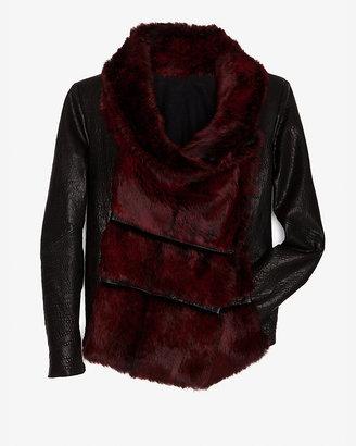 Helmut Lang Flux Fur Jacket