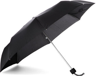 Fulton Women's Black Minilite Compact Umbrella