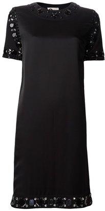 Lanvin Beaded T-shirt Dress