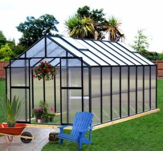 Riverstone Industries Riverstone Monticello 8-Foot x 20-Foot Residential Greenhouse