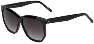 Linda Farrow Luxe dark sunglasses