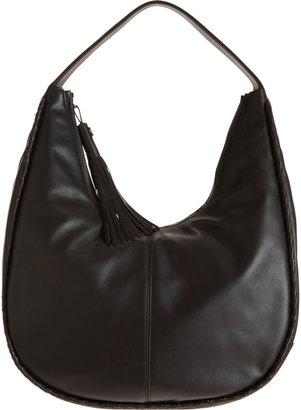 Barneys New York Braided Piping Hobo Bag