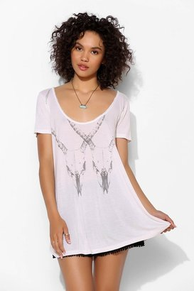 Truly Madly Deeply Antler Scoopneck Tee