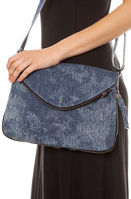 Vans The Section Purse in Denim