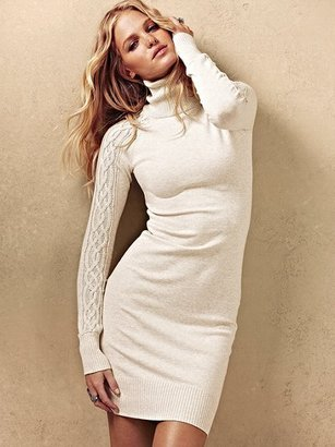 Victoria's Secret Knit Turtleneck Dress