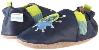 Robeez Beetle Soft Soles (Infant/Toddler) (Navy) - Footwear