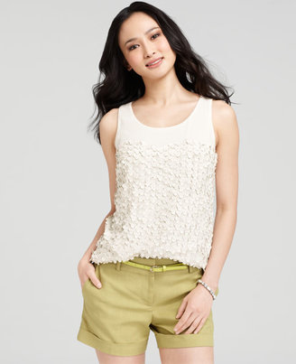 Ann Taylor Meadow Flower Top