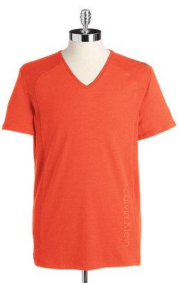 Calvin Klein Cotton V-Neck T-Shirt