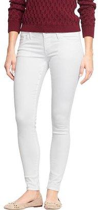 Old Navy Women's The Rockstar White Super Skinny Jeans
