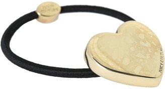 Juicy Couture Juicy Heart Elastic (Gold) - Accessories