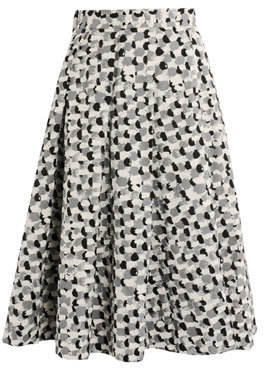 J.W.Anderson Paint brush print skirt