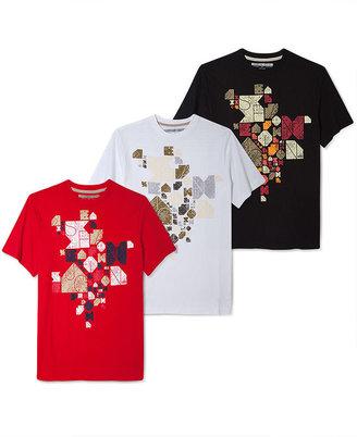 Sean John Short Sleeve T-Shirt Big and Tall, Jigsaw