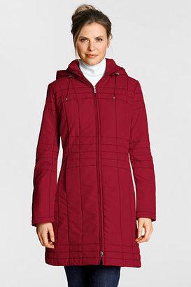 Lands' End Women's Regular PolarThin Insulator Coat