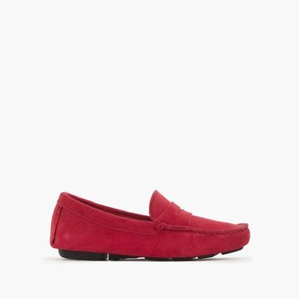 Kids' suede penny loafers $98 thestylecure.com