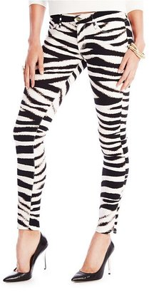 GUESS by Marciano The Skinny No. 61 Jean in Fierce Tiger Print