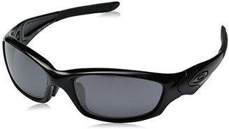 Oakley Men's Straight Jacket Iridium Asian Fit Sunglasses