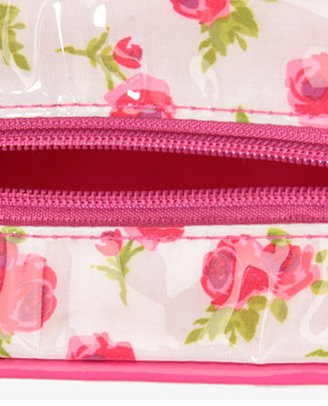 Forever 21 Colored Rose Cosmetic Case