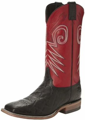 """Justin Boots Men's U.S.A. Bent Rail Collection 13"""" Boot Wide Square Double Stitch Toe Leather Outsole"""