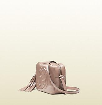 Gucci Soho Soft Patent Leather Disco Bag