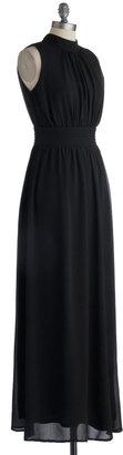 Windy City Maxi Dress in Black