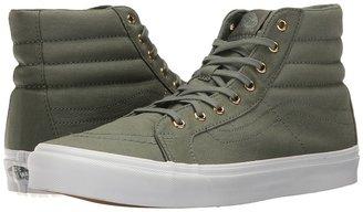 Vans - SK8-Hi Slim Laurel Wreath/True White) Skate Shoes $60 thestylecure.com
