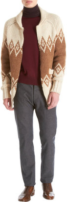 Maison Martin Margiela Fairisle Cardigan Sweater