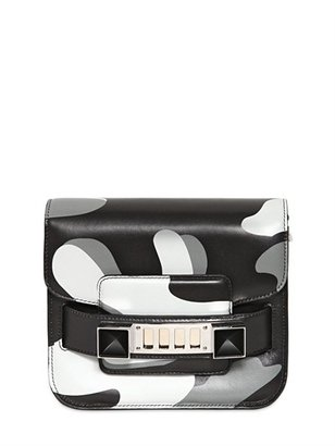Proenza Schouler Ps11 Tiny Camouflage Printed Leather Bag