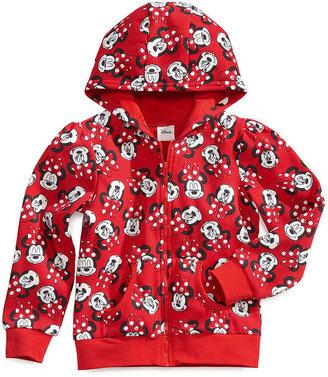Disney Kids Sweatshirt, Little Girls Many Faces of Minnie Hoodie