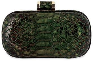 Halston Handbags Hunter Croc Clutch