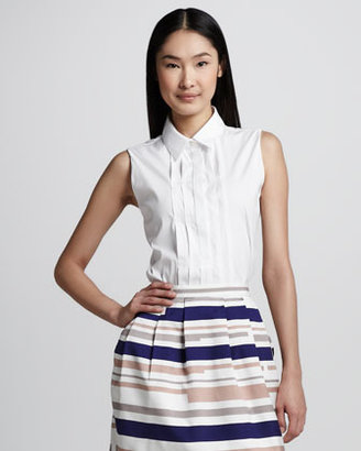 Raoul Pleated Easy Blouse
