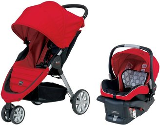 Britax B-Agile & B-Safe Travel System - Red