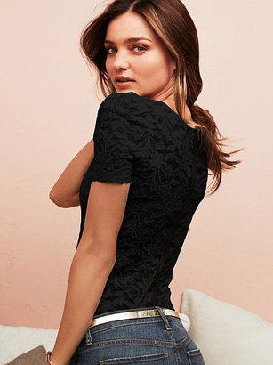 Victoria's Secret Zip-back Top