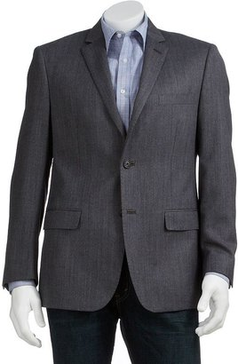 Savile row wool herringbone sport coat - big and tall