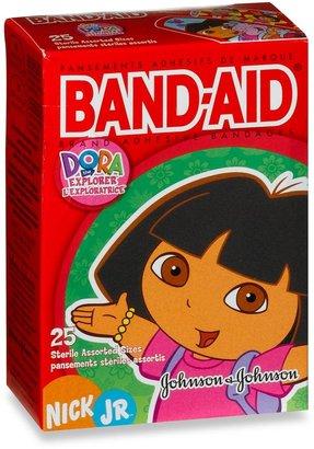 Bed Bath & Beyond Johnson's® 25-Count Dora The Explorer Assorted Bandages