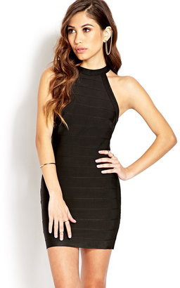 Forever 21 Own The Night Halter Dress