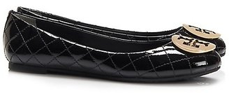 Tory Burch Quinn Quilted Flats $235 thestylecure.com