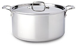 All-Clad Stainless Steel 8-Quart Stock Pot with Lid