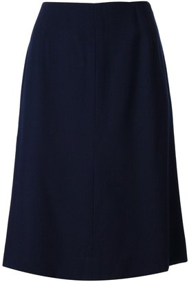 Krizia Pre-Owned straight cut skirt