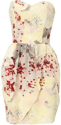 Dahlia Bandeau Print Dress